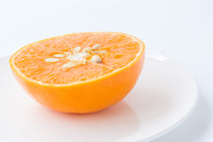 Sliced orange fruit Royalty Free Stock Photography