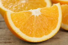 Sliced orange fruits Royalty Free Stock Photography