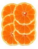 Sliced orange isolated Royalty Free Stock Images