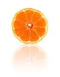Sliced orange isolated Royalty Free Stock Image