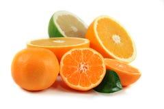Sliced orange isolated Royalty Free Stock Photo