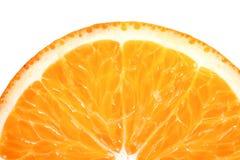 Sliced orange Stock Images