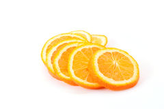 Sliced oranges Royalty Free Stock Image