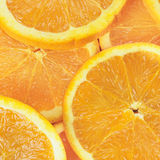 Sliced oranges Stock Images