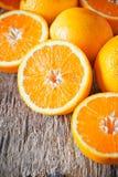 Sliced Oranges Stock Photo