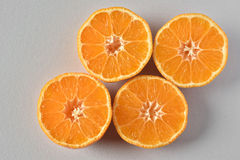 Sliced oranges Stock Photos