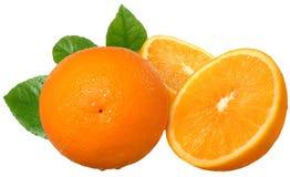 Sliced oranges Royalty Free Stock Photos