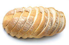 A Sliced Pain De Campagne Au Levain. Stock Photography
