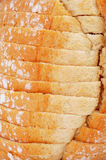 Sliced pan de payes, a round bread typical of Catalonia, Spain Stock Photos