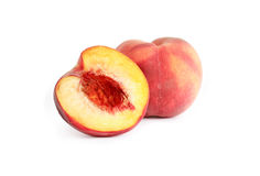 Sliced Peach Royalty Free Stock Photo