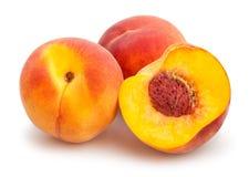 Sliced peach Royalty Free Stock Photography