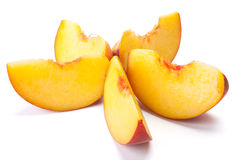 Free Sliced Peaches Royalty Free Stock Photo - 19577155
