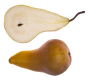 Sliced Pear Stock Image