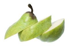 Sliced Pear Stock Photography