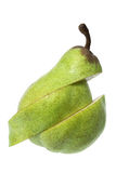 Sliced Pear Royalty Free Stock Photography