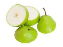 Sliced ​​pear Royalty Free Stock Image