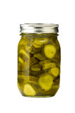 Sliced pickles Royalty Free Stock Photo