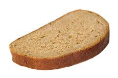Sliced pieace of dark bread Royalty Free Stock Photo