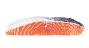 Sliced piece of fish Royalty Free Stock Images