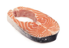 Sliced piece of fish Royalty Free Stock Photography