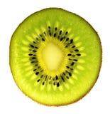 Sliced pieces of kiwifruit Stock Photography