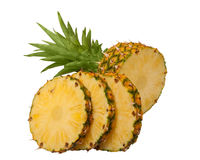 Sliced pineapple Stock Photography