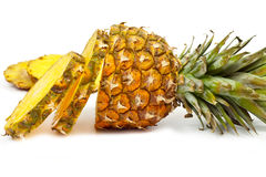 Sliced ​​pineapple Royalty Free Stock Photos