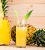 Sliced pineapple Royalty Free Stock Photos