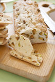 Sliced Pistachio Bread Stock Photos