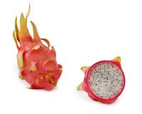Sliced pitaya dragon fruit Stock Photography