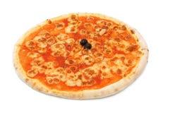 Sliced  Pizza mozzarella Royalty Free Stock Photos