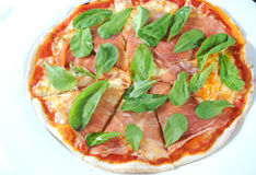 Sliced Pizza Stock Image