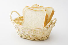 Sliced plain bread Royalty Free Stock Photography