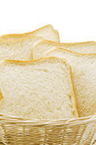 Sliced plain bread Royalty Free Stock Photos