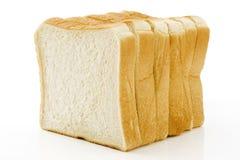 Sliced plain bread Stock Image