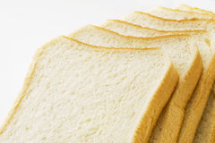 Sliced plain bread Royalty Free Stock Photo