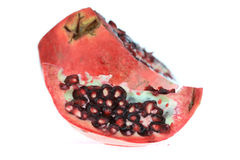 Sliced pomegranate fruit Royalty Free Stock Image