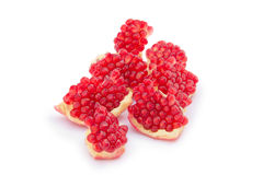 Sliced pomegranate Royalty Free Stock Image