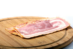 Sliced pork bacon Royalty Free Stock Photography