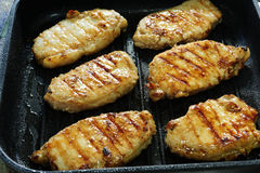 Meat grilled Royalty Free Stock Images