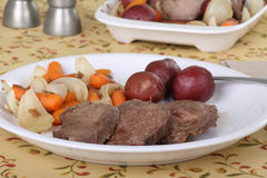 Sliced Pot Roast Stock Images