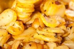 Sliced potato Royalty Free Stock Photo