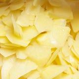 Sliced potatoes Royalty Free Stock Photography