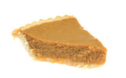 Sliced Pumpkin Pie Royalty Free Stock Photo