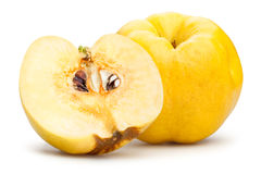 Sliced quinces Royalty Free Stock Photography