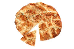 Sliced Ramadan pide Royalty Free Stock Image