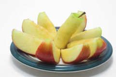 Sliced Red Apple Royalty Free Stock Images