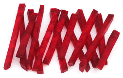 Sliced red beet Stock Image