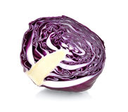 Sliced red cabbage Stock Image