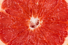 Sliced red grapefruit Royalty Free Stock Images